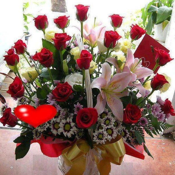 Images de belle fleurs for Beau bouquet de fleurs